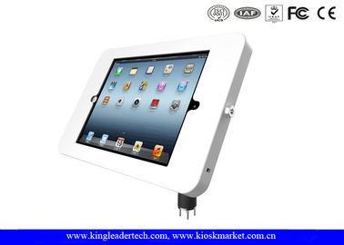 Desktop Mounted iPad / tablet kiosk stand with Metal Material Flexible Goose Neck