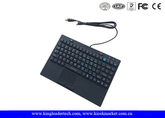 Rubber Computer Industrial Desktop Keyboard With 12 Function Keys And Touchpad