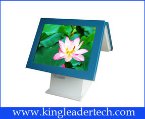 "High Contrast Cash / Pos Touch All In One Terminal , 15"" Touch Screen LCD TFT"
